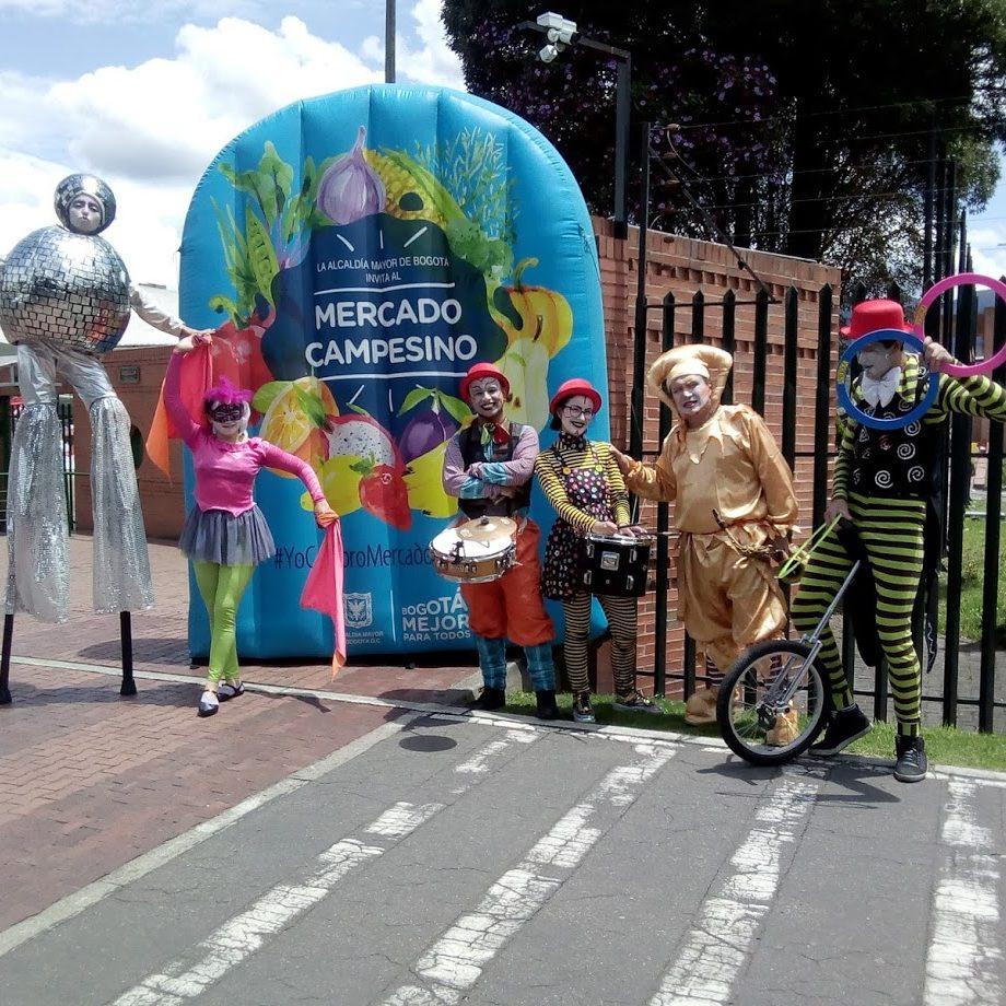 malabaristas de circo en bogota