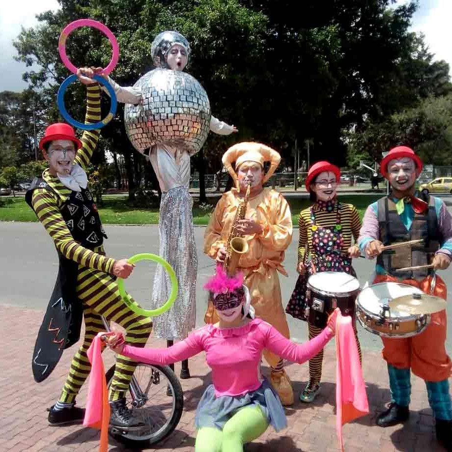 circo para eventos empresariales